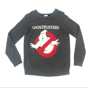 Ghostbusters Small Pull Over Sweater Crew Neck